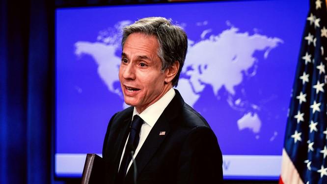 Ngoại trưởng Mỹ Antony Blinken cho rằng Trung Quốc là thách thức lớn nhất vơid Mỹ và tán thành chính sách cứng rắn với Trung Quốc của chính phủ Donald Trump (Ảnh: Dwnews).