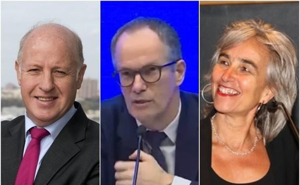 Ba thành viên nhóm chuyên gia WHO bị Sky News cáo buộc có quan hệ mờ ám với Trung Quốc: (trái qua) Peter Daszak, Peter Ben Embarek và Marion Koopmans (Ảnh: Đông Phương).