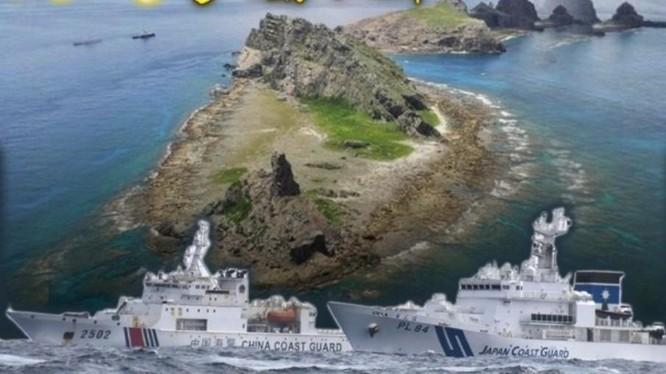 Sau khi Luật Hải cảnh Trung Quốc có hiệu lực hôm 1/2, tàu Hải cảnh Trung Quốc đã 6 ngày đi vào vùng biển Senkaku với 14 lần chiếc (Ảnh: Đông Phương).