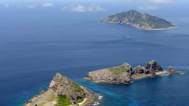 Quần đảo Senkaku/Điếu Ngư, nơi diễn ra tranh chấp chủ quyền gay gắt giữa Trung Quốc với Nhật Bản từ sau khi Nhật quốc hữu hóa quần đảo này năm 2012 (Ảnh: Dwnews).