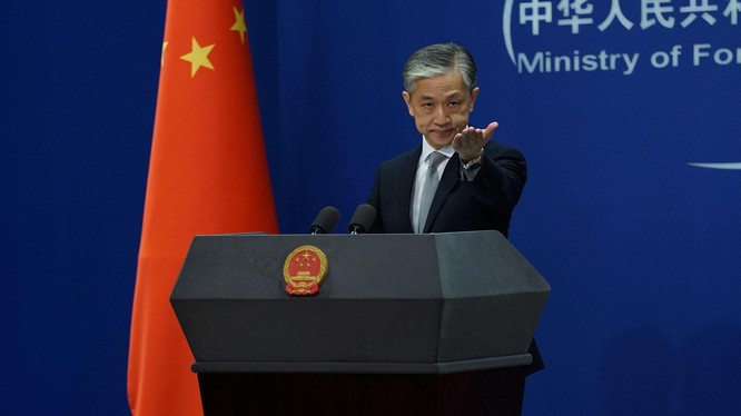 """Ông Uông Văn Bân: """"Trung Quốc kiên quyết đáp trả bất kỳ hành động khiêu khích và mạo hiểm nào đối với quần đảo Điếu Ngư"""" (Ảnh: Dwnews)."""