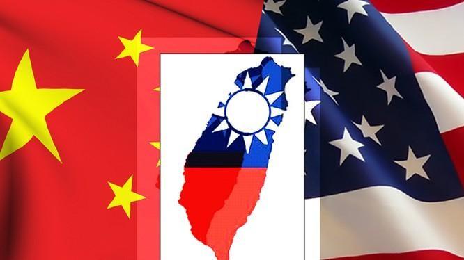 Vấn đề Đài Loan đang là chướng ngại khó vượt qua trong quan hệ Mỹ - Trung (Ảnh: Dwnews).