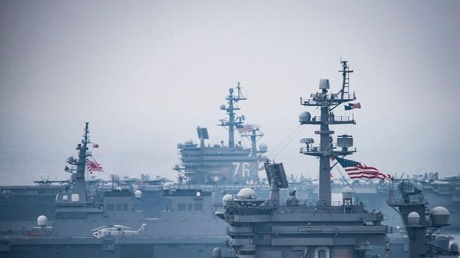 Quân đội Mỹ và Nhật đã có kế hoạch giao chiến với Trung Quốc bảo vệ quần đảo Senkaku (Ảnh: Dwnews).