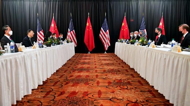 Phien khai mạc cuộc Đối thoại chiến lược cấp cao Mỹ - Trung kết thúc trong cãi vã (Ảnh: Reuters).