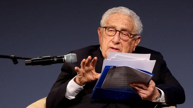 Cựu Ngoại trưởng Mỹ Kissinger cảnh báo về nguy cơ xung đột Mỹ - Trung nếu không đạt được đồng thuận về trật tự quốc tế mới (Ảnh: Getty).