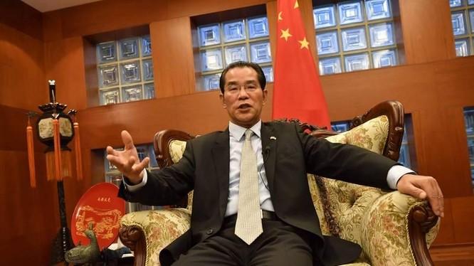 Đại sứ Trung Quốc Quế Tùng Hữu, người bị các đảng đối lập Thụy Điển yêu cầu chính phủ trục xuất (Ảnh: CNA).