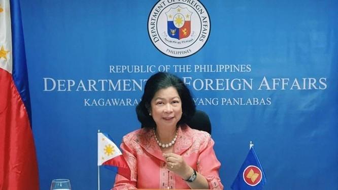 Thứ trưởng Ngoại giao Philippines Buensuceso: Việc các tàu Trung Quốc tiếp tục ở lại bãi đá ngầm Ba Đầu là nguồn cơn gây nên tình hình căng thẳng trong khu vực (Ảnh: Philstar).