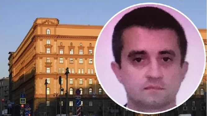 Ông Alexander Sosonyuk, Tổng lãnh sự của Lãnh sự quán Ukraine tại St.Petersburg bị Nga bắt (Ảnh: Singtao).