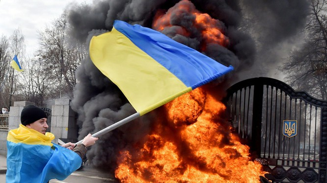 Tình hình miền Đông Ukraine hiện rất căng thẳng (Ảnh: Đa Chiều).