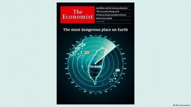 """The Economist của Anh gọi Đài Loan là""""nơi nguy hiểm nhất hành tinh"""" gây tranh cãi (Ảnh: Deutsche Wells)."""