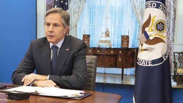 Ngoại trưởng Antony Blinken đã chỉ thị cấm nhập cảnh Mỹ một số đối tượng cơ quan thực thi pháp luật Trung Quốc (Ảnh: AP).