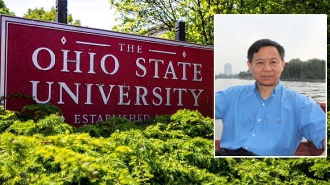 Ông Trịnh Tụng Quốc, Giáo sư Đại học bang Ohio vừa bị tòa án Mỹ kết án tù giam 37 tháng (Ảnh: Singtao).