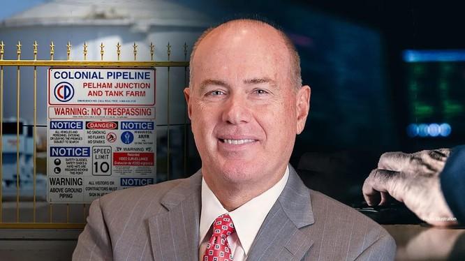Ông Joseph Blount, Giám đốc điều hành công ty Colonial Pipeline thừa nhận đã trả 4.4 triệu USD tiền chuộc cho nhóm tin tặc để được hoạt động trở lại (Ảnh: WSJ).