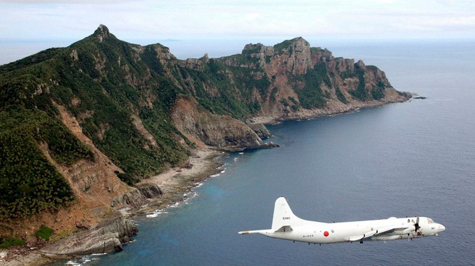 Nhật Bản ngày càng thể hiện quyết tâm bảo vệ quần đảo Senkaku (Ảnh: Kyodo).