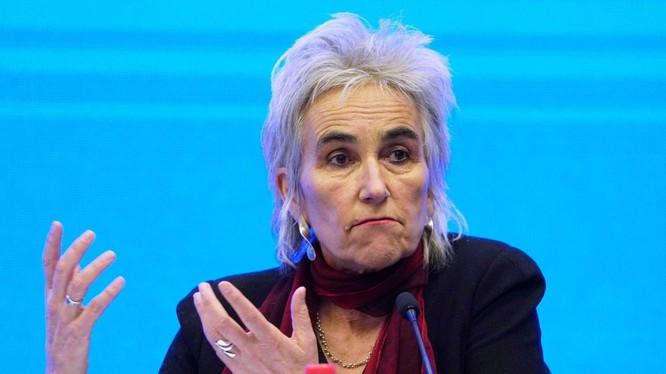 Bà Marion Koopmans nhà virus học nổi tiếng người Hà Lan, một thành viên của Nhóm chuyên gia WHO yêu cầu tới Trung Quốc điều tra lại về nguồn gốc SARS-CoV-2 (Ảnh: AP).