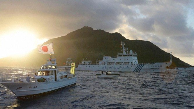 Tranh chấp quần đảo Senkaku/Điếu Ngư tiếp tục trở thành điểm nóng trong quan hệ Nhật Bản - Trung Quốc (Ảnh: Đa Chiều).