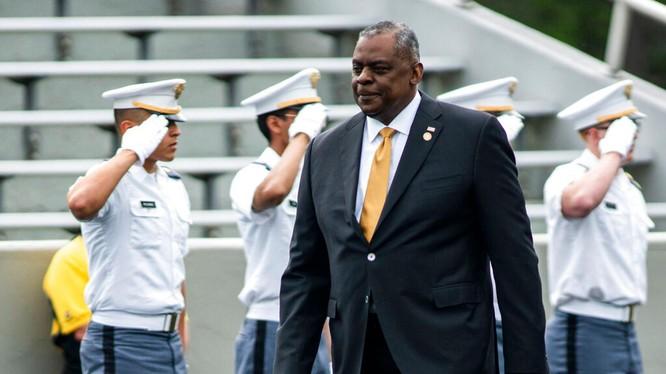 Bộ trưởng Quốc phòng Mỹ Lloyd Austin (Ảnh: AP).