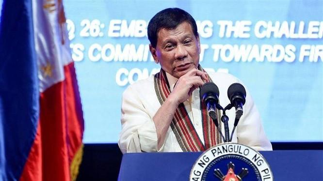 Ông Duterte yêu cầu Mỹ giải thích hành động của họ trong sự kiện Trung Quốc chiếm bãi Scaborough năm 2012 (Ảnh: CNA).