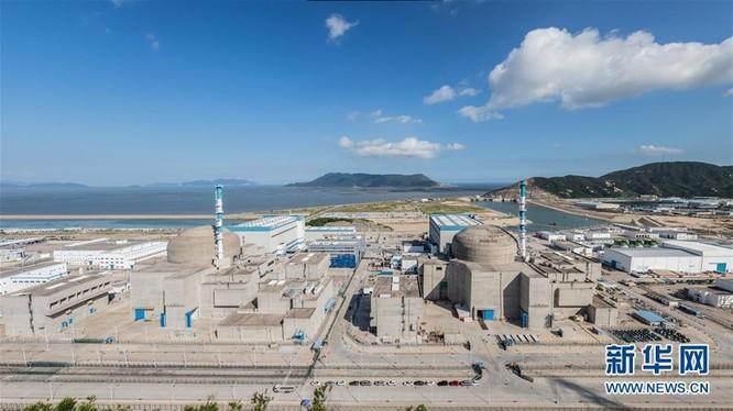 Toàn cảnh Nhà máy điện hạt nhân Đài Sơn, Quảng Đông liên doanh giữa Pháp với Trung Quốc (Ảnh: Guancha).
