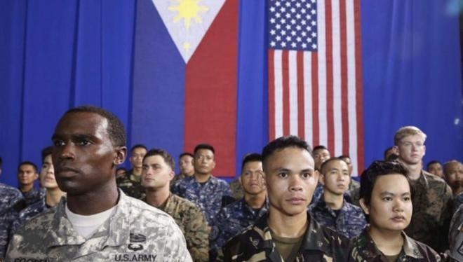 Do tranh chấp trên biển với Trung Quốc, Philippines hoãn chấm dứt VFA với Philippines lần thứ ba (Ảnh: Sohu).