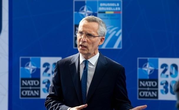 Tổng thư ký NATO Jens Stoltenberg: một liên minh an ninh xuyên Đại Tây Dương cần được thành lập để đối phó với những thách thức do sự trỗi dậy của Trung Quốc (Ảnh: AP).