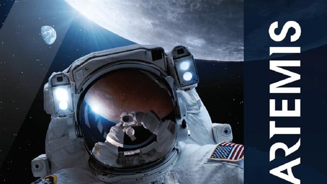 Mỹ đã thông qua kế hoạch Artemis đưa người lên Mặt Trăng vào năm 2024 (Ảnh: Chinatimes).