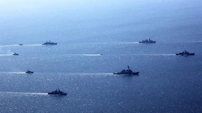 """Hải quân hơn 30 nước do Mỹ và Ukraine dẫn đầu sẽ tham giá cuộc tập trận """"Exercise Sea Breeze 2021"""" ở Biển Đen từ 28/6 (Ảnh: Odessanews)."""