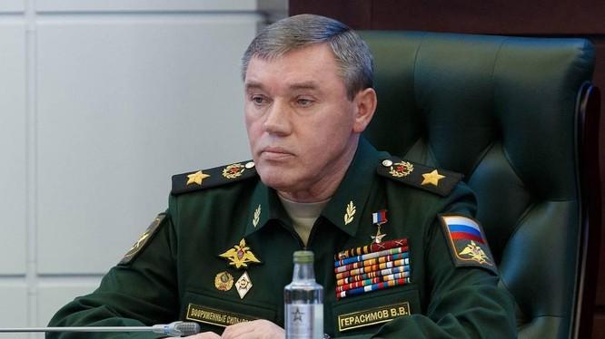 Đại tướng Valery Gerasimov, Tổng Tham mưu trưởng Các lực lượng vũ trang Nga (Ảnh: