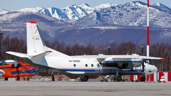 Một chiếc An-26 cùng loại với chiếc máy bay bị rơi (Ảnh: Rusian Planet).