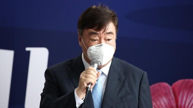 Ông Hình Hải Minh, Đại sứ Trung Quốc tại Hàn Quốc người đang gây rắc rối ngoại giao giữa hai nước (Ảnh: Yonhap).