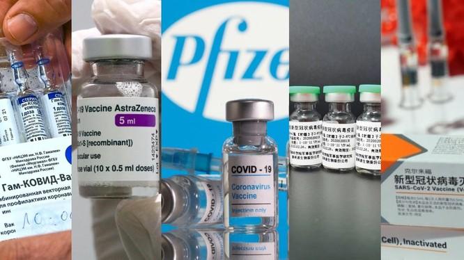 Hiện nay có nhiều loại vaccine đang lưu hành với mức độ sinh kháng thể khác nhau (Ảnh: Hket).