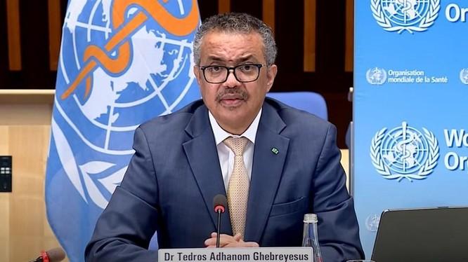 Tuyên bố của Tổng Giám đốc WHO Tedros Adhanom về kế hoạch điều tra truy xuất nguồn gốc SARS-CoV-2 giai đoạn 2 được nhiều quan chức và học giả các nước ủng hộ, nhưng Trung Quốc bác bỏ (Ảnh: WHO).