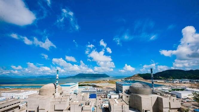 Nhà máy điện hạt nhân Đài Sơn, Quảng Đông phải tạm ngừng hoạt động để sửa chữa (Ảnh: CVA).