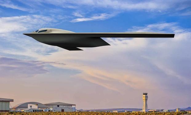 Hình ảnh giả tưởng của B-21 Raider đang trong quá trình chế tạo (Ảnh: Military).