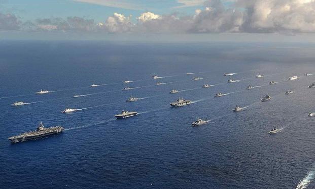 Mỹ huy động lực lượng phương tiện quân sự lớn cùng 25 ngàn quân tham gia cuộc diễn tập LSE21 lớn chưa từng thấy (Ảnh: Military).
