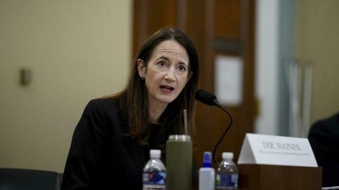 Giám đốc Tình báo Quốc gia Hoa Kỳ Avril Haynes, người phụ trách cuộc điều tra về SARS-CoV-2 theo lệnh của Tổng thống Joe Biden (Ảnh: AFP).