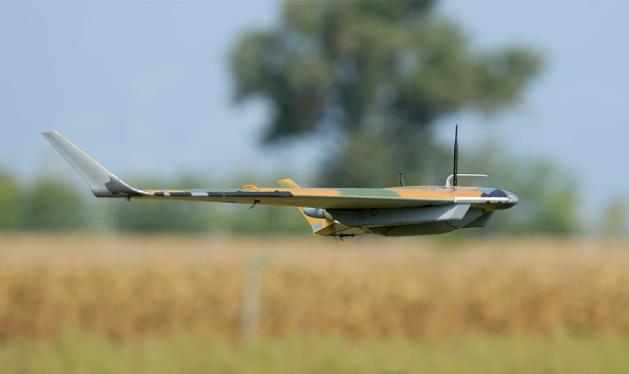 Máy bay không người lái quân sự Strix-DF do công ty Alpi Aviation chế tạo (Ảnh: AA).