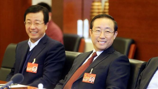 Ông Phó Chính Hoa, Ủy viên TW, Phó Chủ nhiệm Ủy ban Các vấn đề xã hội và pháp luật, nguyên Thứ trưởng Bộ Công an, Bộ trưởng Tư pháp Trung Quốc bị điều tra (Ảnh: Dwnews)