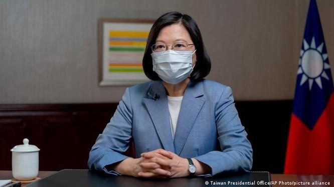 Bà Thái Anh Văn luôn theo đuổi chính sách không khuất phục trước sức ép của Trung Quốc (Ảnh: Deutsche Welle).