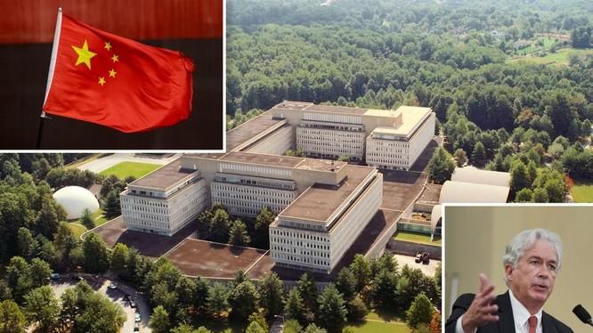 Ngày 6/10, Giám đốc CIA William Burns đã tuyên bố thành lập Trung tâm Sứ mệnh Trung Quốc nhằm tập trung đối phó hơn nữa với Trung Quốc (Ảnh: botanwang)