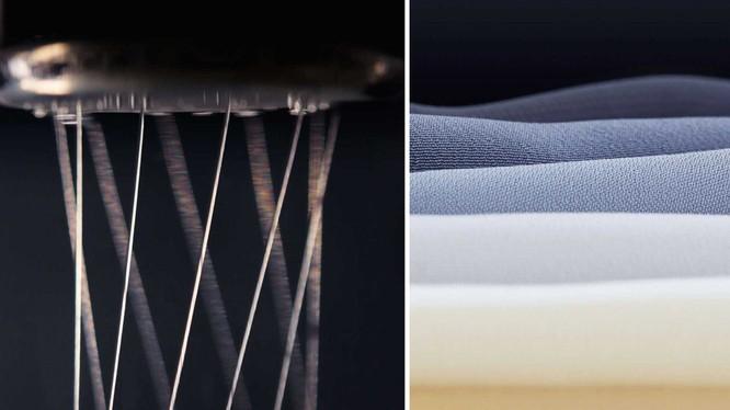 Sản phẩm thép Sinh học của công ty AMSilk còn chắc chắn hơn thép nhưng có độ đàn hồi như dây thun. Nguồn: Stylus Curve