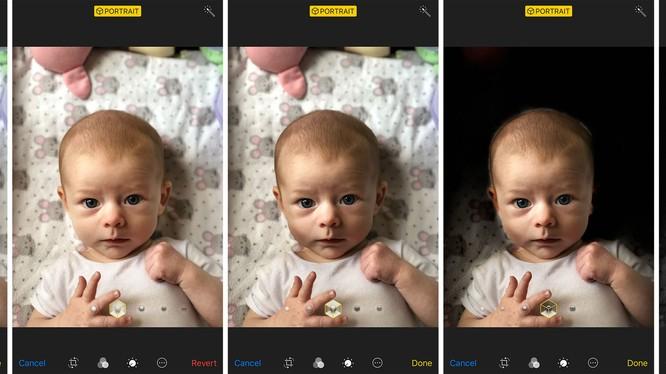 Potrait Lighting là tính năng hỗ trợ chụp ảnh độc đáo trên iOS 11. Nguồn: Pickr