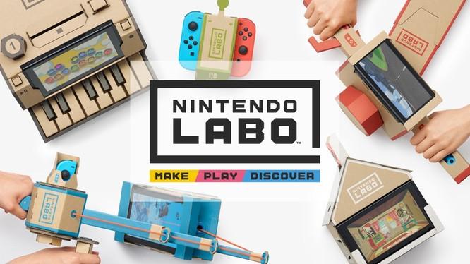 Nintendo Labo sẽ chính thức lên kệ vào 20/4 với hai phiên bản để lựa chọn. (Nguồn: Nintendo)