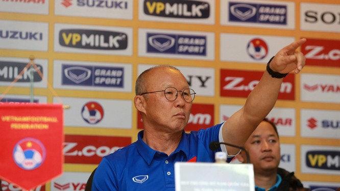 Thầy Park mới được VFF bổ nhiệm vào vị trí HLV trưởng tháng 10 năm ngoái nhưng đã để lại dấu ấn rõ nét trong lối chơi của đội tuyển.