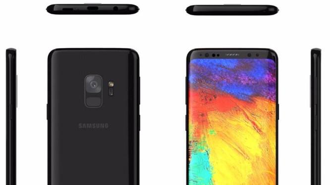 Hình ảnh dựng của Galaxy S9 để khắc phục nhược điểm thiết kết của Galaxy S8 được tạp chí Forbes và công ty Ghostek đưa ra hồi tháng 12/2017. Nguồn: Forbes
