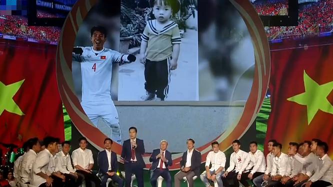 Chương trình Giao lưu cùng đội tuyển U23 Việt Nam phát sóng ngày 06/02/2018. Nguồn: VTV