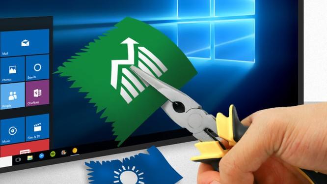 10 Apps Mananger là công cụ đơn giản để người dùng là sạch Bloatware khỏi Windows 10. Nguồn: Make Use Of