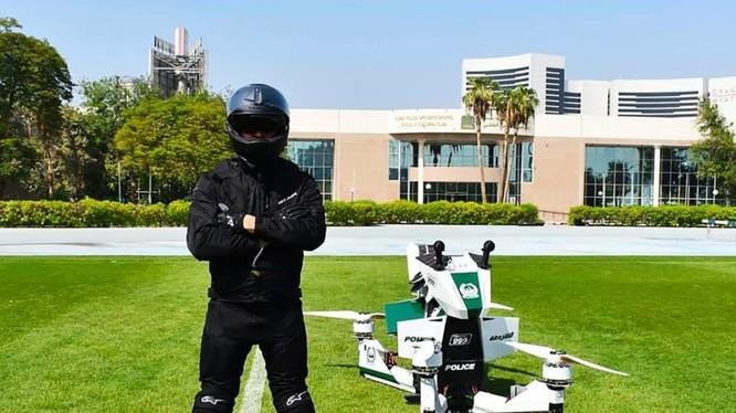 Moto bay của cảnh sát Dubai