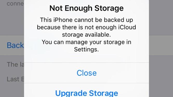 iCloud Photos Library khiến dung lượng lưu trữ miễn phí trên iCloud hết nhanh chóng. Nguồn: TheUnlockr