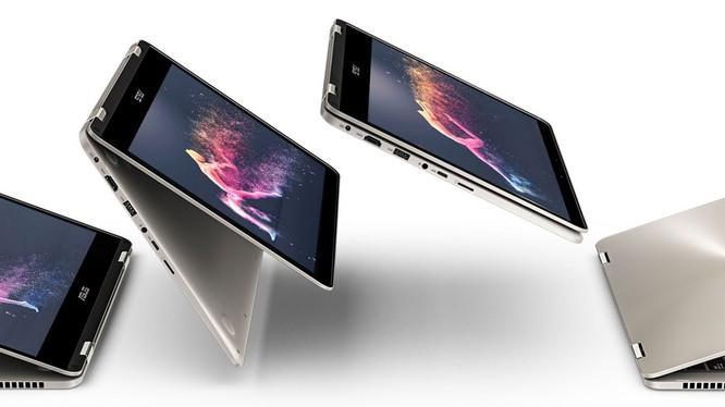 Asus ZenFone Flip 14 là mẫu laptop cao cấp 2-trong-1 mới được ra mắt tại Việt Nam. Nguồn: Asus